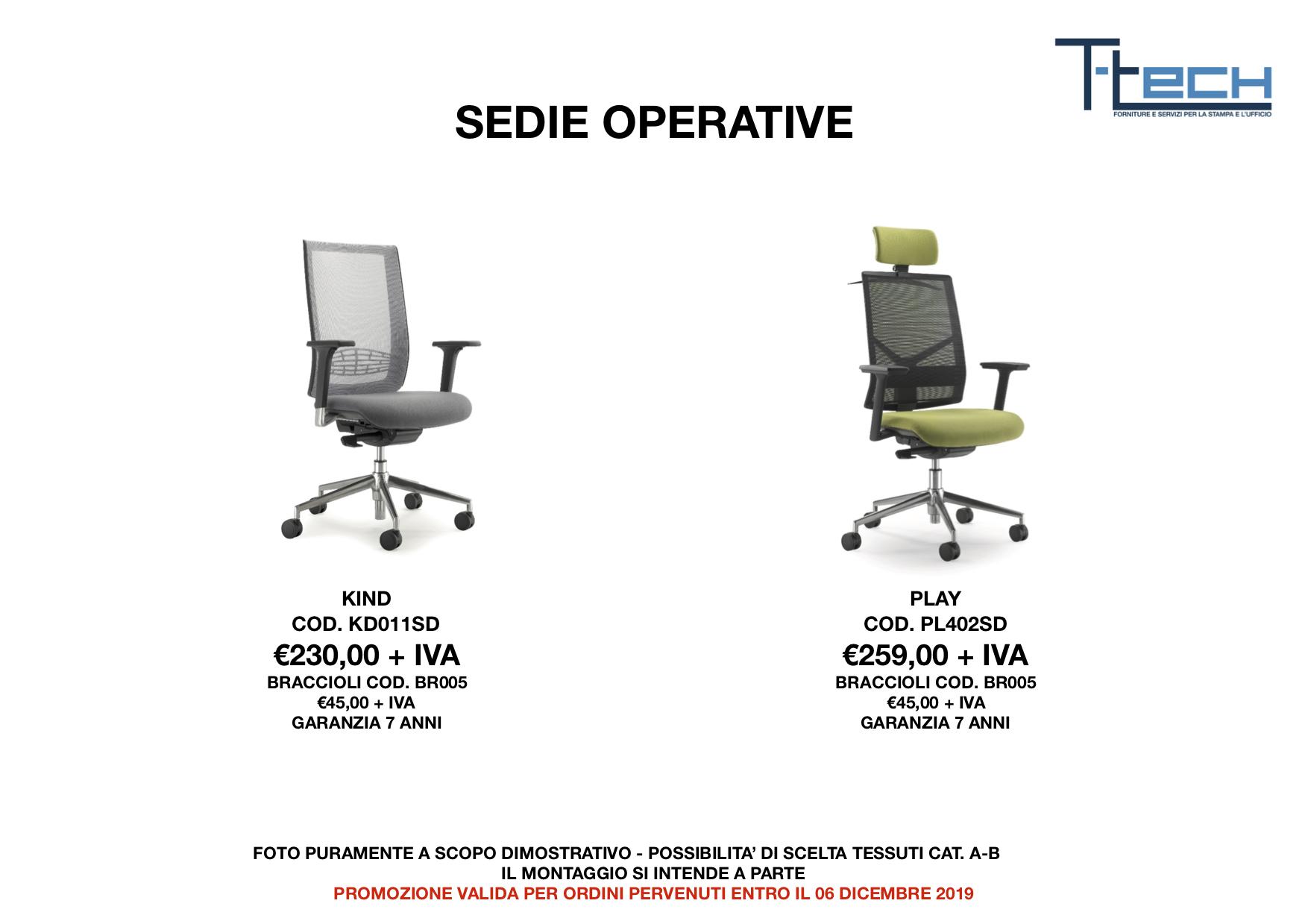 Sedie ufficio 2019 2